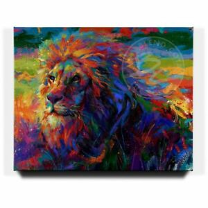 Blend-Cota-King-of-the-Jungle-32-x-40-S-N-LE-Gallery-Wrapped-Canvas