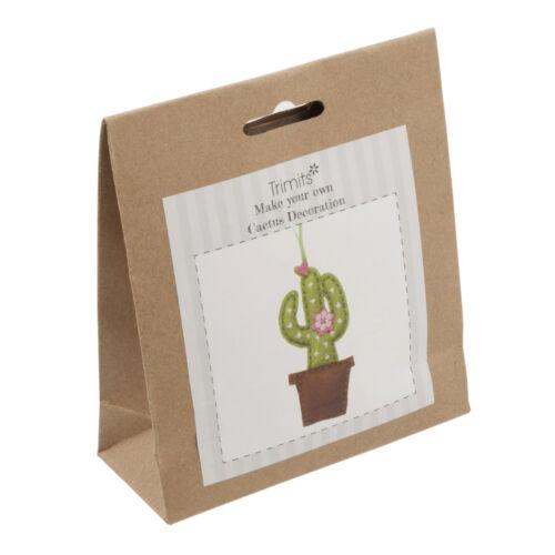 1x Kit De Fieltro hilo Cactus Costura Artesanía Herramienta Hobby Art Reino Unido a granel filoro