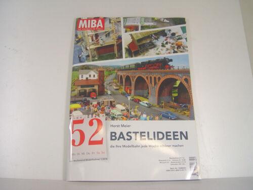 Meier Horst Miba Heft 52  mit 114 Seiten Bastelideen m