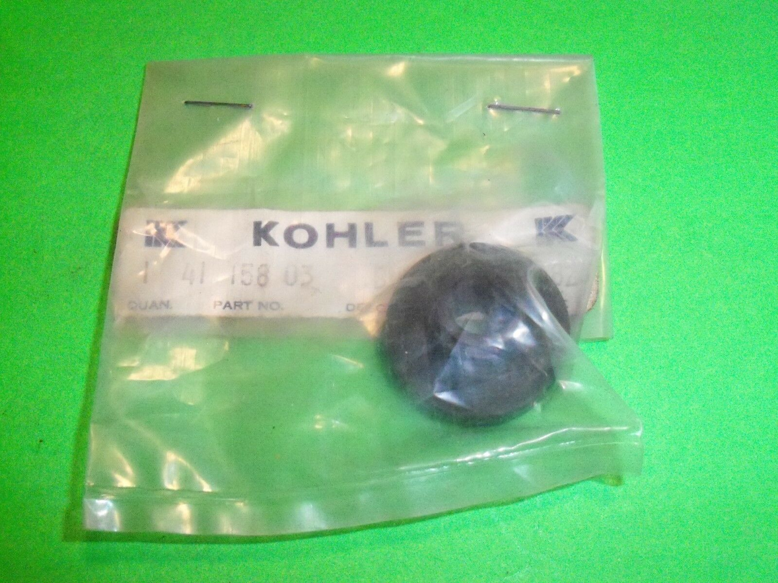 2 Pack Genuine Kohler 41-158-03-S Fuel Tank Bushing Fits Magnum M8 M14 M16 OEM