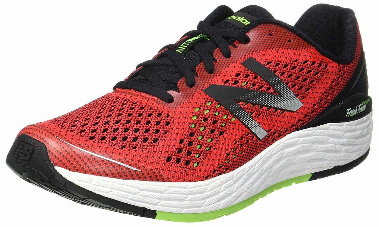New Balance Mens Vongo v2 Fresh Foam Running Shoes Red