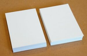 Details About 50 Blank Aceo Atc Supplies 2 5 X 3 5 Artist Trading Cards 140lb Watercolor Paper