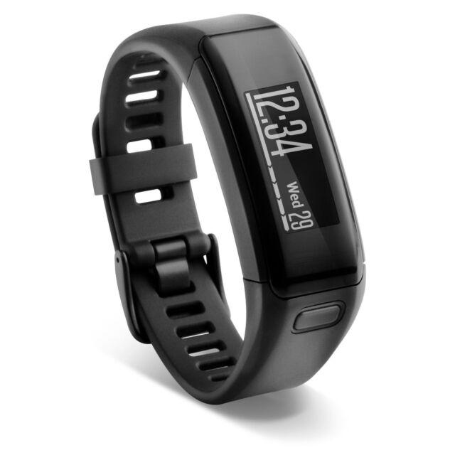 Garmin vivosmart HR Activity Tracker Black Regular Size 010-01955-00