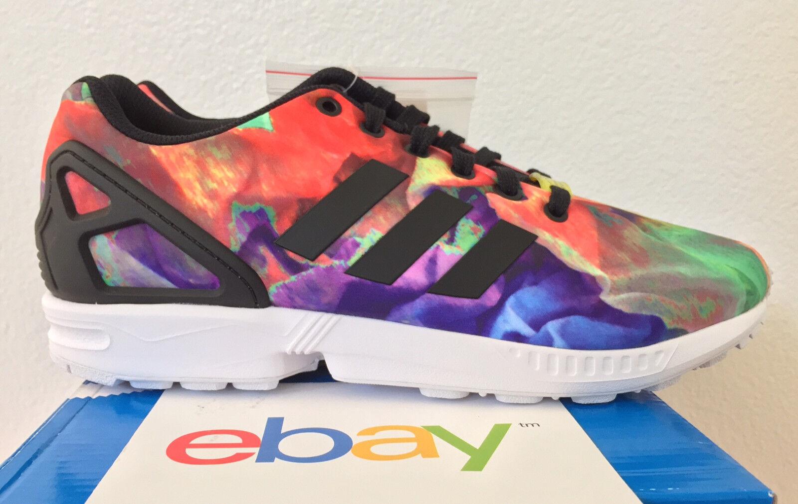 c448cb30e0da Women s adidas ZX Flux Running Athletic Shoes Tropical Melon M21364 ...