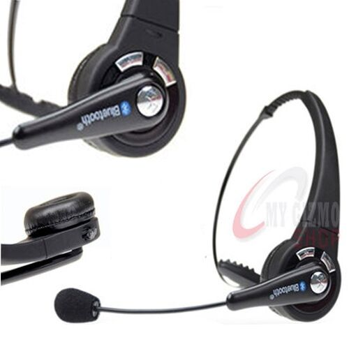 DELUXE BLUETOOTH HEADSET FOR PLAY STATION 3 PS3 MOBILE PHONE WIRELESS