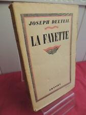 LAFAYETTE Joseph Delteil