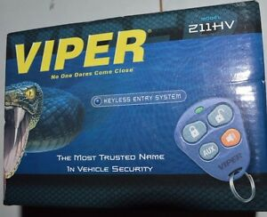 Viper-211HV-1-500-Ft-Keyless-Entry-System-With-Two-4-button-Remotes-NEW