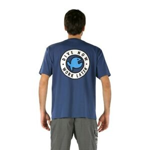 iQ-Classic-T-Shirt-Dive-Now-Navy-Men-Gr-S
