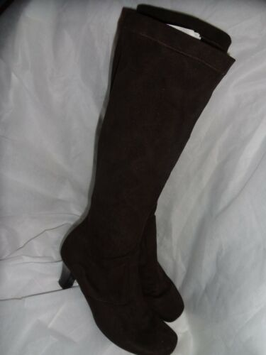 Uk Size High Eu Gabor 37 Vgc Elasticated Knee 5 Brown Textile 5 Boot Women 4 xXfggq0w8P