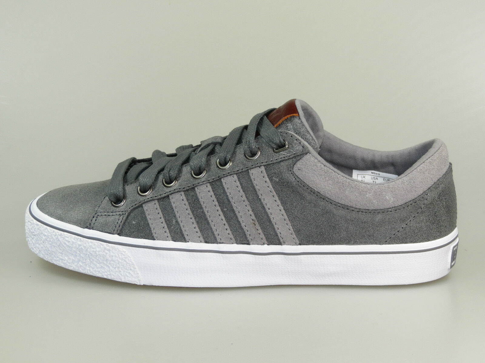 K-SWISS Sneaker ADCOURT LA P VNZ 03131048 Grau Weiß +Neu+ Größe 40 - 45