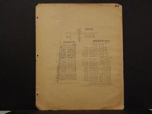 Missouri Vernon County Map Amos Swartz Dedrick 1928 !R5#07