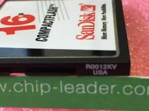 1 x SANDISK Compact Flash Card 16 MB (SDCFB-16-101) SEE PICTURE