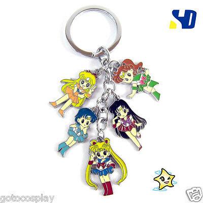 Sailor Moon Bandai Jupiter Metal keyring keychain key chain Pendant Cute