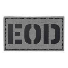 Ranger Green Infrared EOD Explosive Ordnance Disposal Bomb Squad 3.5x2 Tactical Morale Fastener Patch