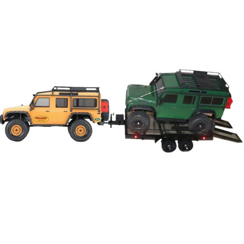 1//10 RC Truck Parts Schwere Anhänger für Traxxas Trx4 Redcat HSP Axial