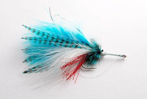 6 flies Fly Fishing Flies Permit, Tarpon, Redfish, Trout Baitfish Tarpon