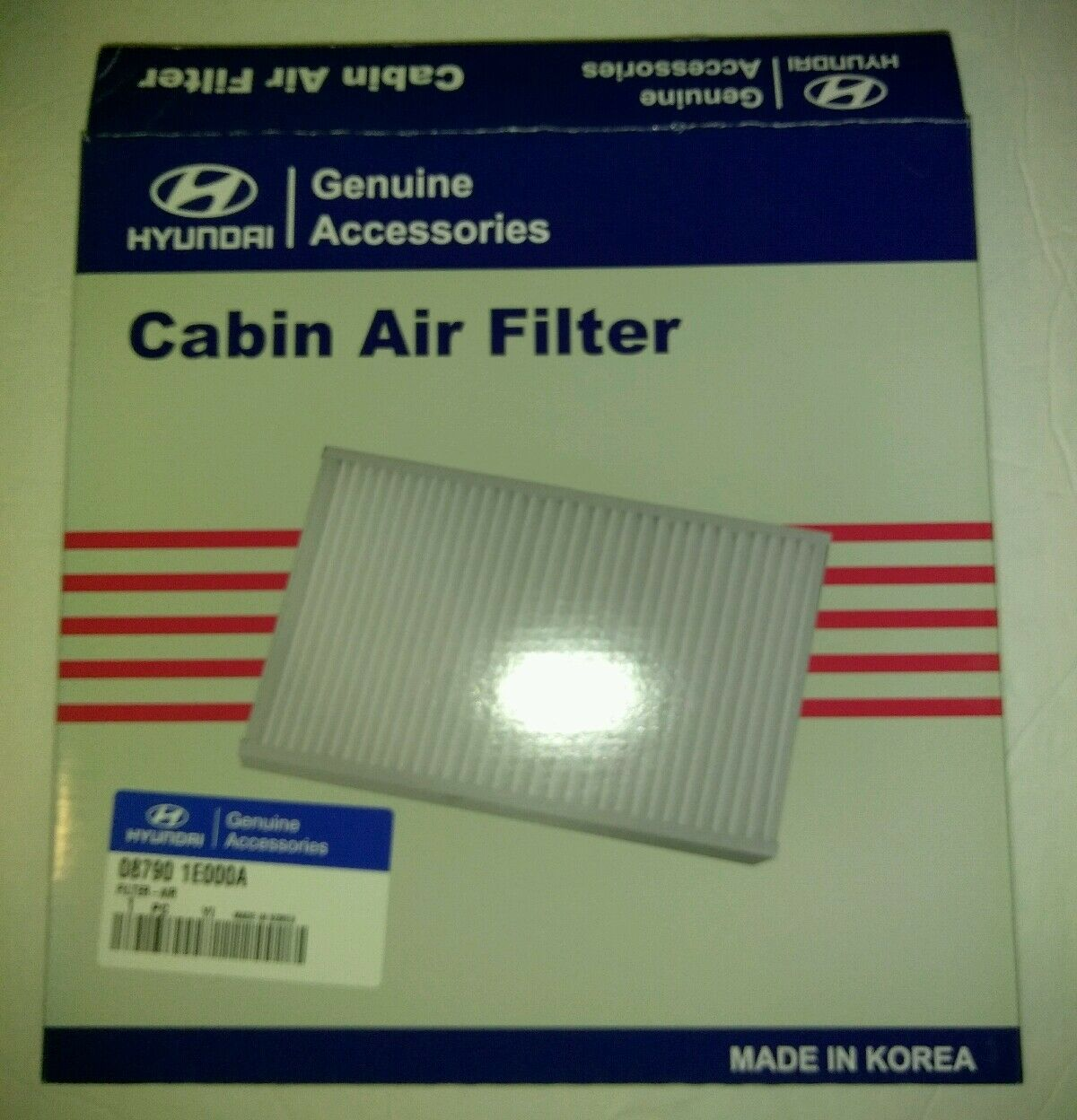 Hyundai 087901e000a Genuine Oem Cabin Air Filter Ebay