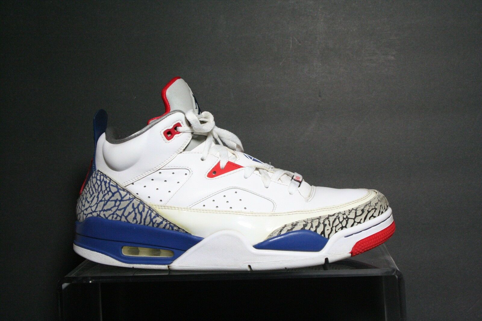 Nike Air Jordan Son of Mars Low 13' Off Court Court Off Multi Spike Sz 10.5 Cement Ath Hip 055dcb