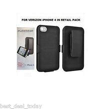Verizon Puregear  Shell Holster Combo Case Clip For Apple Iphone 4 4G 4S Sprint