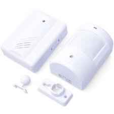 Wireless Door Bell Welcome Alarm Chime Motion Sensor Detector Shop Store HS116
