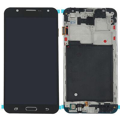 For Samsung Galaxy J7 J700M J700F LCD Display Touch Screen Glass Digitizer Frame