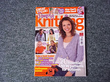 SIMPLY KNITTING MAGAZINE - ALAN DART - TOY KNIT - ISSUE 72 - LITTLE DEVIL