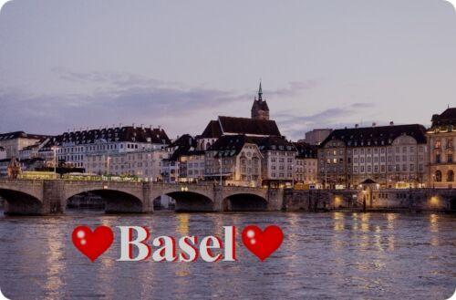 Kühlschrankmagnet,Magnetschild,Magnet-Motiv:Basel II