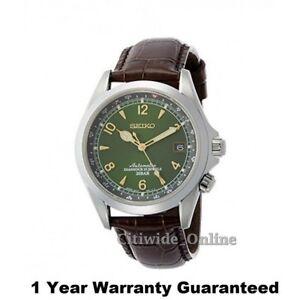 Seiko Sarb017 Mechanical Automatic Men Leather Watch W/1 yr fr Tax