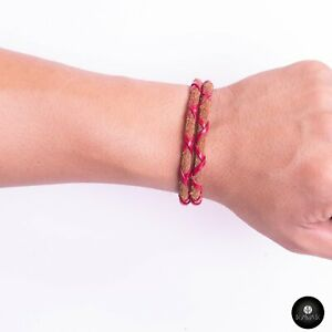 Kavak - Handmade Fearless Red Leather Adjustable Women's Bracelet