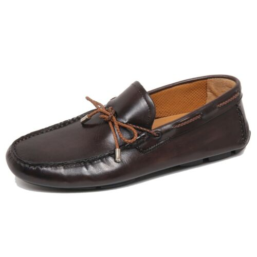Shoe Loafer Uomo Milano F4892 Dark Scarpe Mocassino Delave' Man Brown Altieri rYYzxw8q5