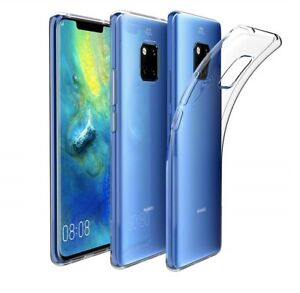 For-Huawei-Mate-20-Pro-Case-Transparent-Clear-Silicone-Slim-Gel-Cover