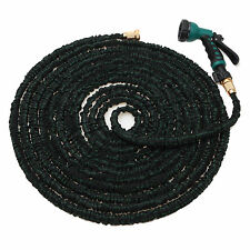 100FT Expanding Flexible Garden Water Hose Pipe with Spray Nozzle Upgrade