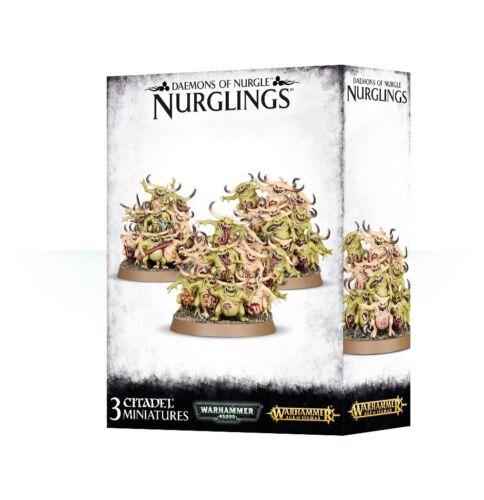 Nurglings 3 Warhammer 40K Daemons of Nurgle AoS Age of Sigmar Chaos Daemon