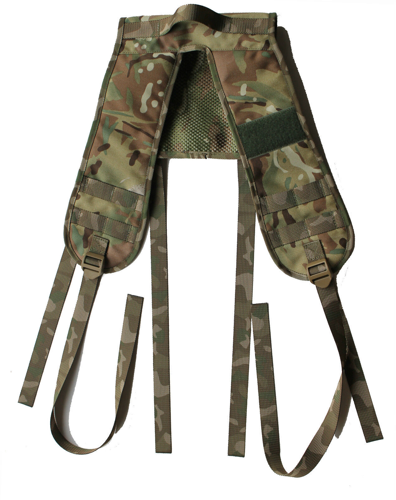 UKOM 6 Point Airborne PLCE Webbing Yoke - Colours include Crye Multicam   MTP