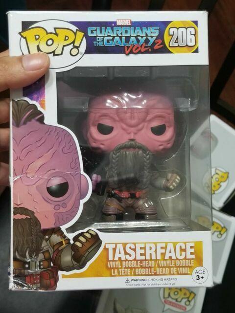 Funko POP Vinyl Guardians Of The Galaxy 2 Taserface Bobble Head Figurine No 206