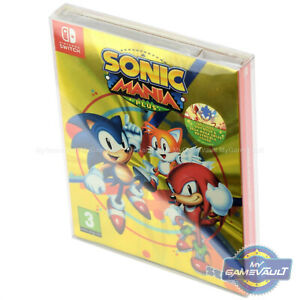 1 Box Protector For Nintendo Switch Game Sonic Mania Plus 0 5mm Plastic Case Ebay
