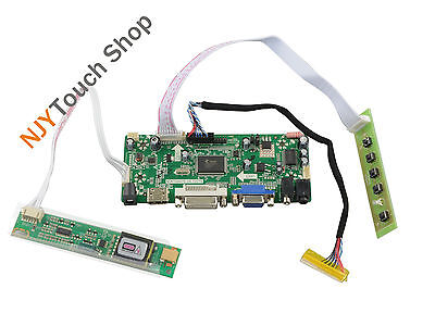 HDMI//DVI//VGA Converter Driver Lvds Controller Board Kit for Screen HB156WX1-100