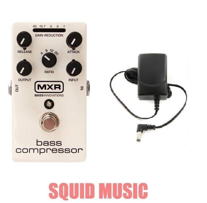 MXR Dunlop M87 Bass Compressor Bass Effects Pedal ( FREE POWER SUPPLY ) M-87