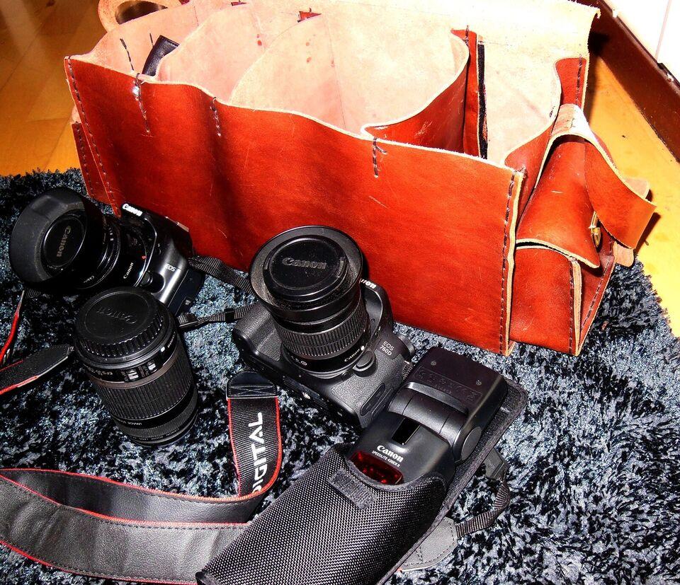 2 stk. Canon - EOS 450 D -og  760 D.