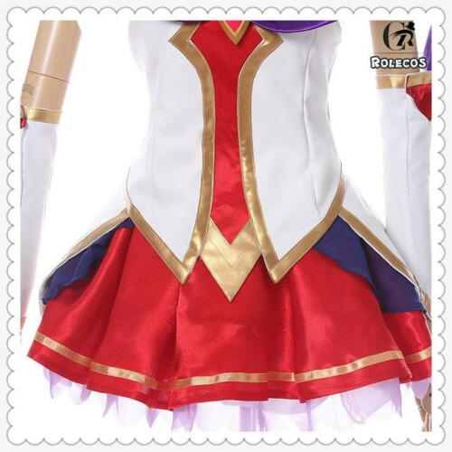 LOL Star Guardian Ahri the Nine-Tailed Fox Skin Cosplay Costume Outfit Full Set