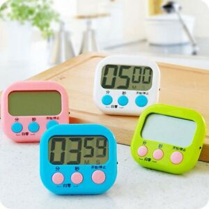 Details About Multi Function Positive And Negative Countdown Cute Timer Remind Kitchen Timer