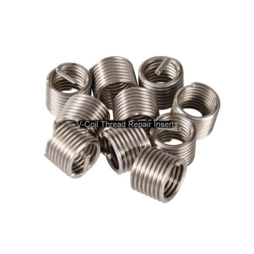 Helicoil Compatible 6 mm Wire Thread Repair Inserts M6 x 1.0 1.5 D 20 off