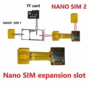 Welche Sd Karte Für S8.Details About Hybrid Nano Sim Sd Card Adapter For Samsung S8 S8 Plus Support 2 Sim 1 Sd