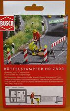 Busch 7802 Ausgestaltungs Set H0 Teerkocher Scale 1 87 Neu OVP