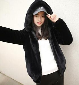 Hooded Jakker Long Damebeklædning Fur Warm Casual Outwear Hip Thicken Parka Winter Bf5qfaO1