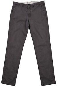 Jack-amp-Jones-Jean-pour-Hommes-Coupe-Standard-Gris-Fonce-Pantalon-Taille-31-32