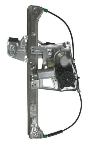 Fits 00-01 Cadillac Deville Front Power Window Regulator w// Motor Driver Side