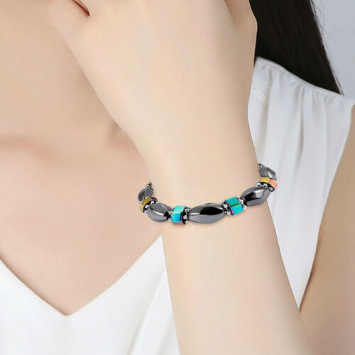 Magnetic Health Slimming Bracelet Bangle Wrap Jewelry Charm Women Weight Loss 8C