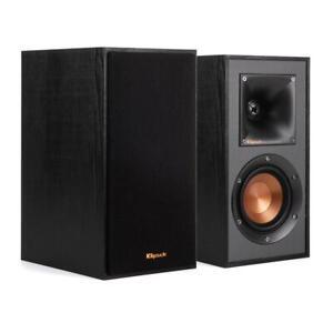 Klipsch-R-41M-bookshelf-powerful-detailed-sound-speakers-Ebony-Pair