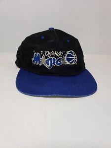 Details about Vintage 90 s NBA Orlando Magic Logo 7 Baseball Style Snapback  Hat Cap b8bfc5cbeb5